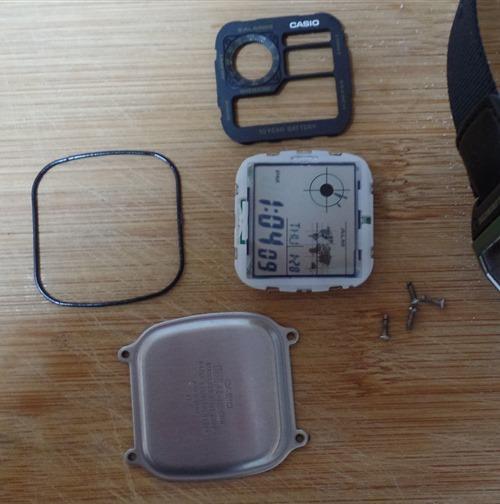Casio AE1200 taken apart