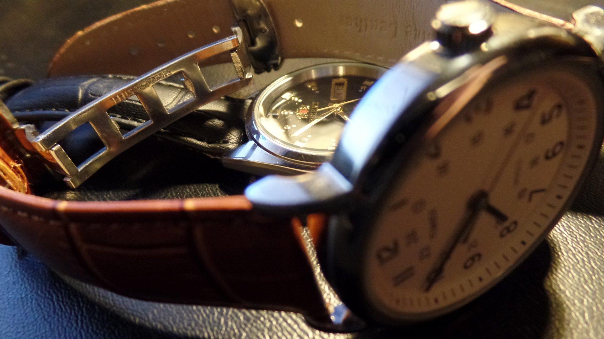 Orient Tri Star and Timex Weekender