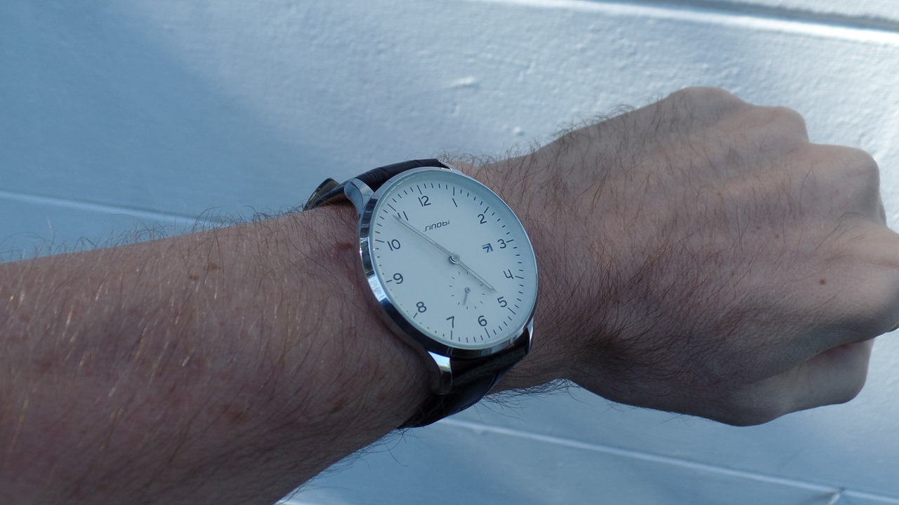 Sinobi 9358 on wrist