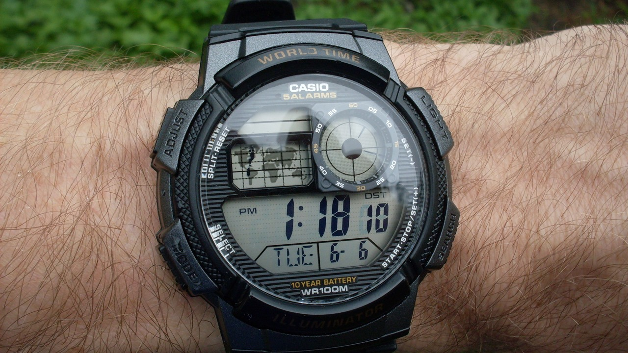 Casio AE1000W front
