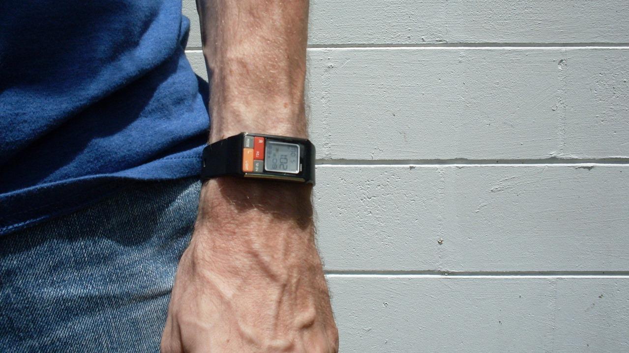 Casio LDF-50 on wrist