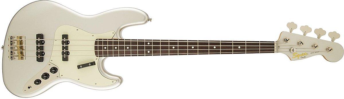 Squier Jazz Bass 60s in Inca Silver