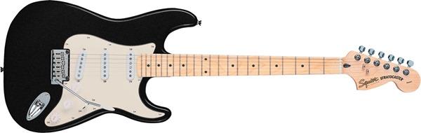 Squier Standard Stratocaster Metallic Black