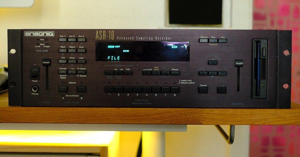 Ensoniq ASR-10 Rackmount