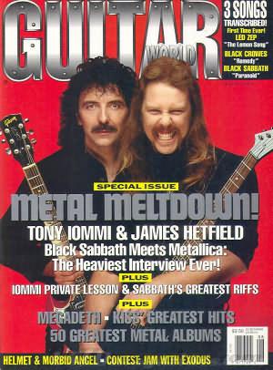 Guitar World August 1992