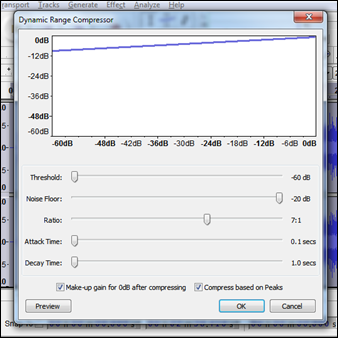 Crazy-stupid compressor settings