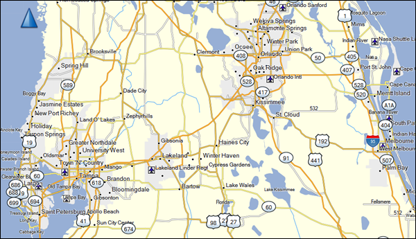 Garmin BaseCamp Florida Map