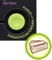 Harmonium Button