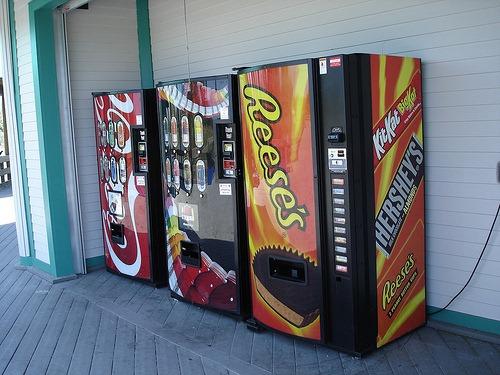 reese's vending machine