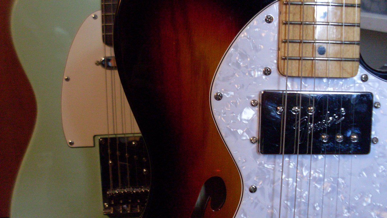 Squier Bullet Telecaster and Squier Vintage Modified '72 Telecaster Thinline