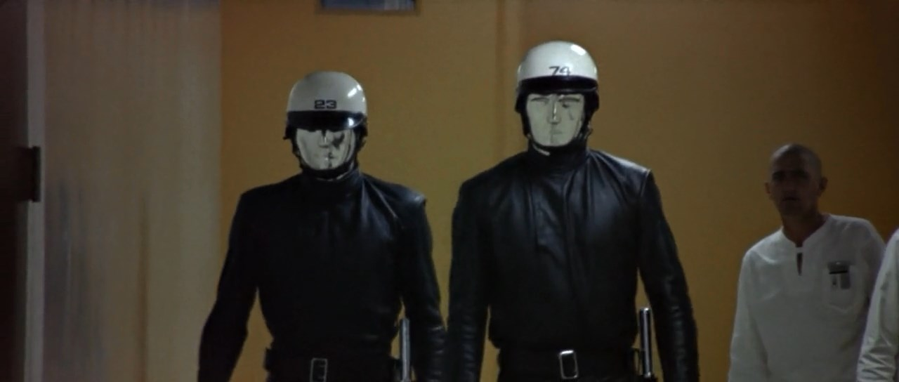 THX 1138 Chrome Robots