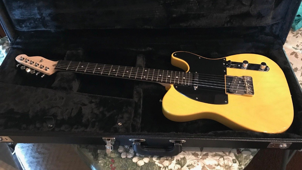 guitar 'with upgrades'