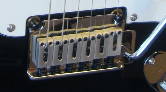 Squier Standard Stratocaster bridge saddles